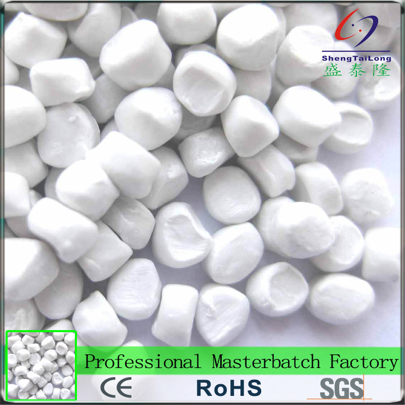 2017 New item Professional manufacturer dosing white masterbatch plastic pellets for daily necessities