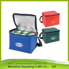 Wholesale customized 100% eco-friendly recycled non woven cooler bag
