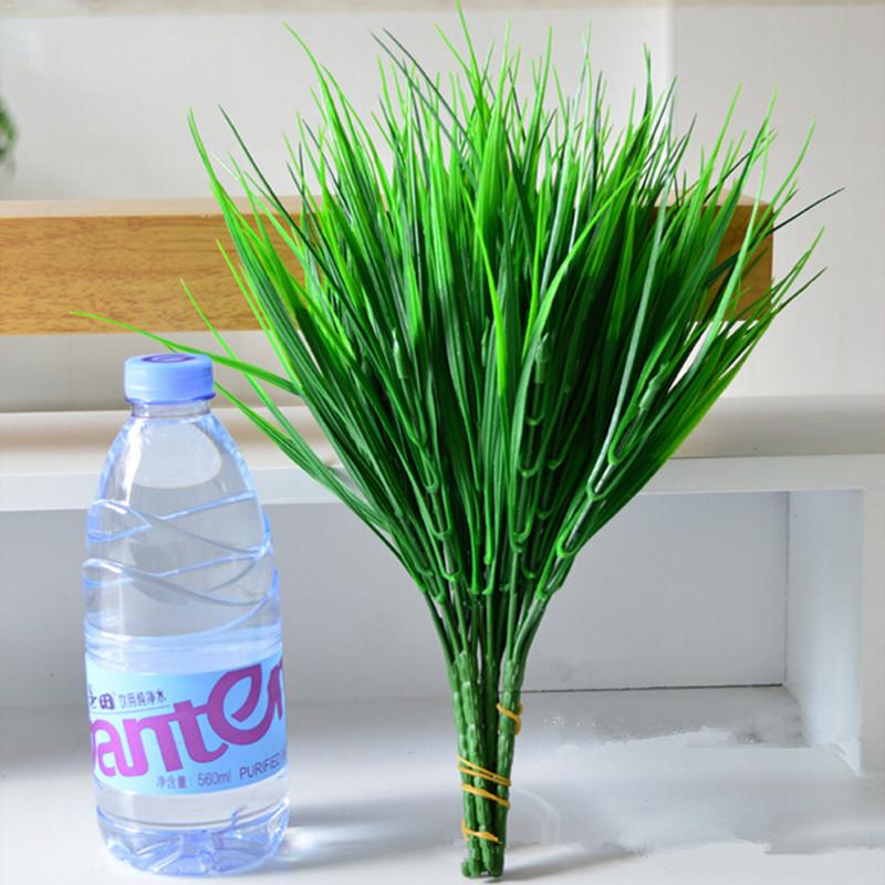 Grass ball artificial grass plastic flower grass ball artificial plants