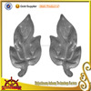 wrought iron railing part leaf for decoration