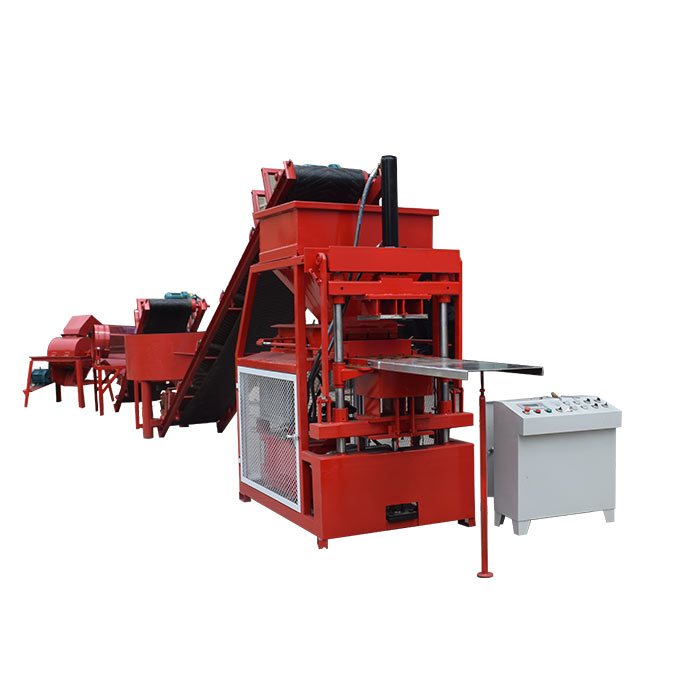 Hot selling in Peru small clay interlock brick machines for home business 2-10 compressed earth block machine