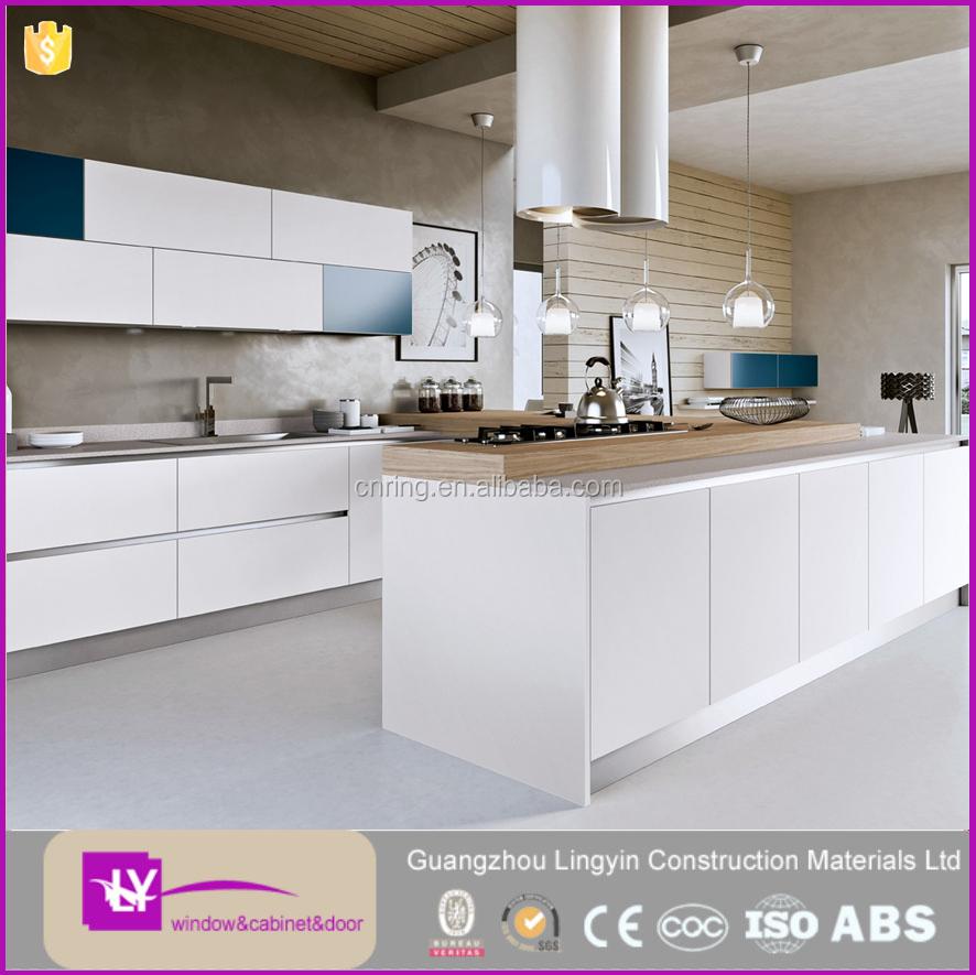Moderne lak meubelen ontwerp keukenkast met pvc teen kick in de bodem keuken kasten product id - Moderne keukenkast ...