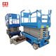 Order Quickly Movable Scissor lift table Tires