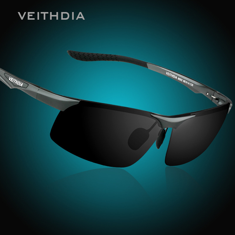 Aluminum Magnesium Polarized Sunglasses Men Sports Sun glasses Night Driving Mirror Male Eyewear Accessories Goggle Oculos
