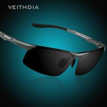 Aluminum Magnesium Polarized Sunglasses Men Sports Sun glasses Night Driving Mirror Male Eyewear Accessories Goggle Oculos 6502