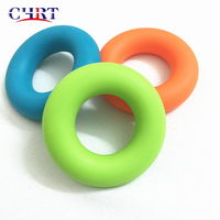 Wholesale Best Quality Rubber Muscle Grip Exercise Therapy Finger Relieves Stress Silicone Ring for Office Hand Fitness