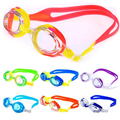Colorful Adjustable Children Waterproof Silicone Anti Fog UV Shield Swimming Glasses Goggles Eyewear Eyeglasses with Box