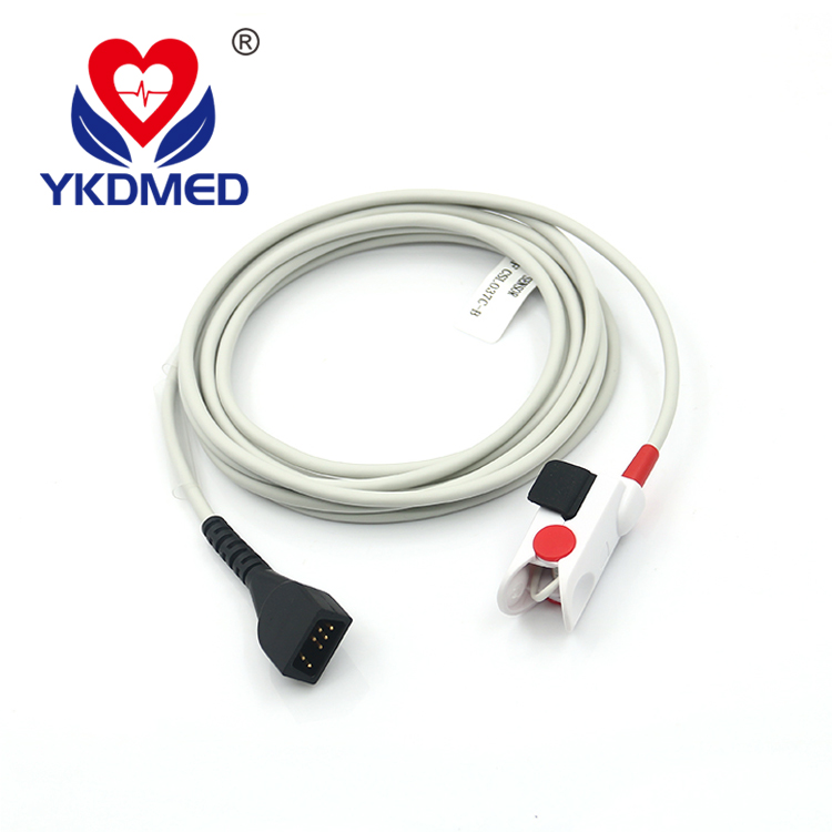 Compatible Nonin Series 8000 J-3 pediatric finger oxygen sensor