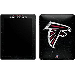 NFL Atlanta Falcons iPad Skin - Atlanta Falcons Distressed Vinyl Decal Skin For Your iPad