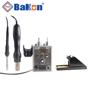 SBK8586 700W 2 in 1 hot air soldering station ,rework station and soldering iron with desoldering gun