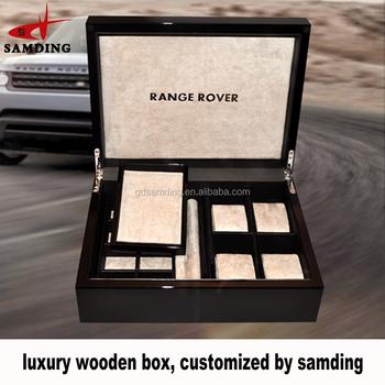 2018 Luxury Black Mdf High Gloss Car Key Holder Gift Lock Box For