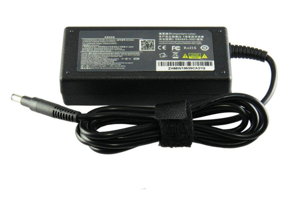 195V 333A 65W Laptop AC Power Adapter Charger For HP Notebook Pavilion Sleekbook 14 15 ENVY 4 6 Series High Quality