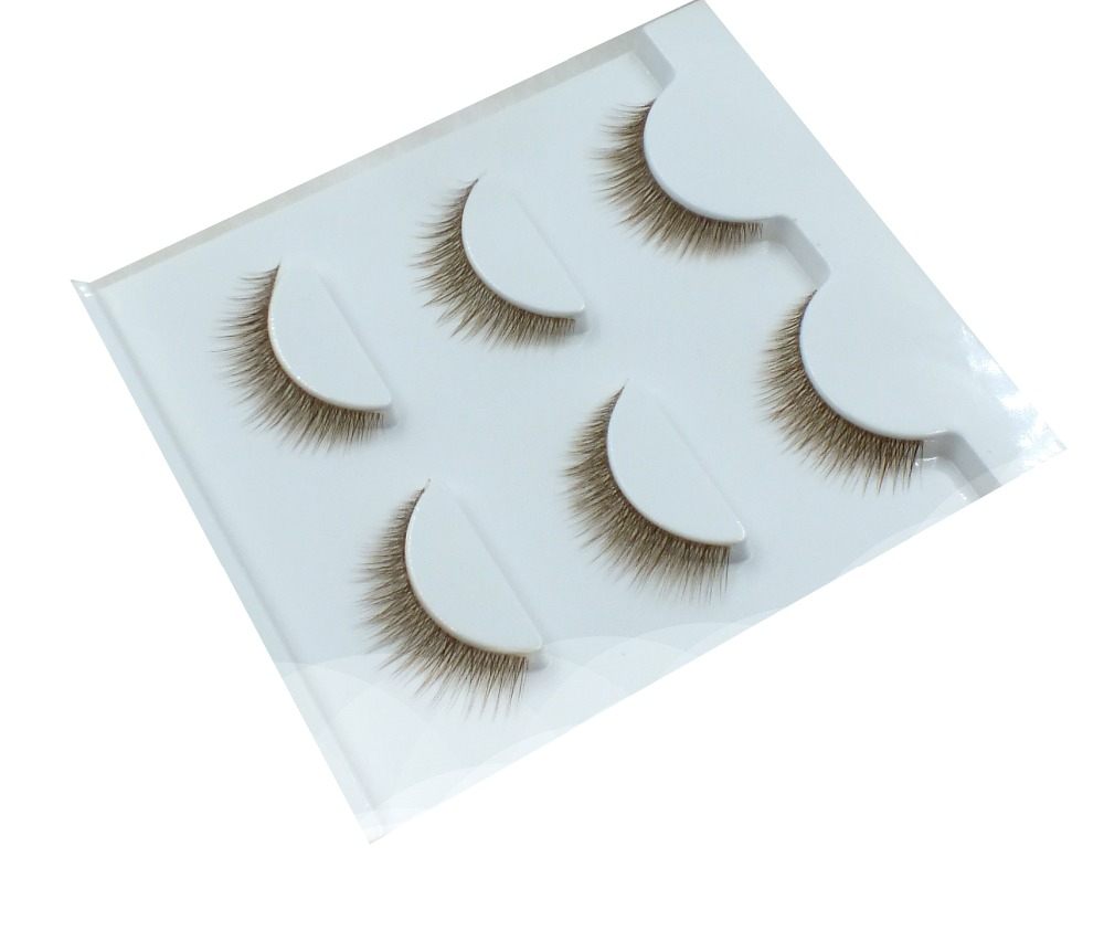2016 Hand made synthetic fiber eyelash with factory price