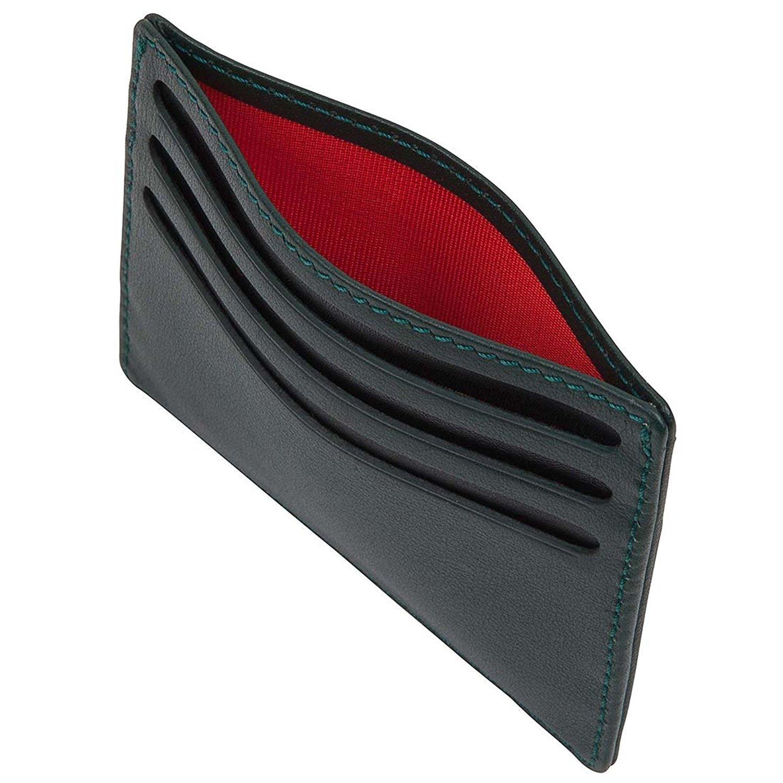 David Hampton Green Label Leather Slim 6 Card Holder