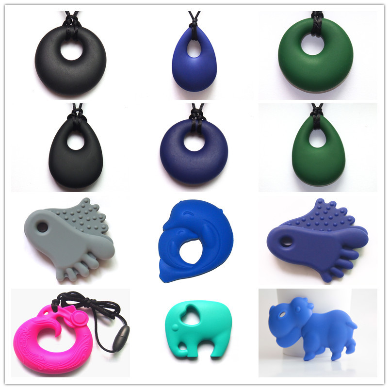 Teething Nurse Necklace Pendant/ BPA Free Food Grade New Product Teething Toy Silicone Teether Baby Toy