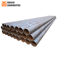 LSAW steel spiral hot dipped galvanized pipe used for water ,oil and gas