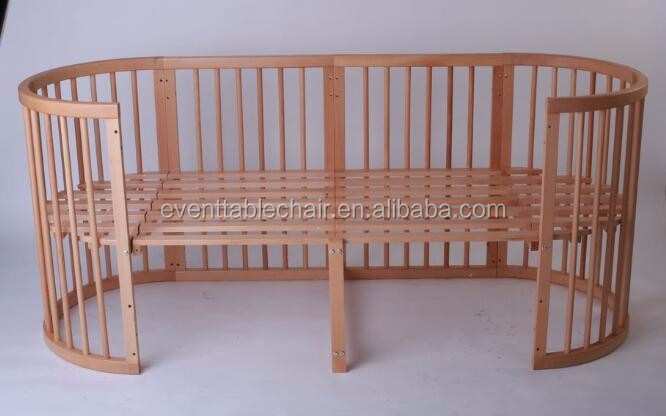 Round 8 In 1 Factory Price Convertible Cribs Adult Baby Crib Buy Adult Baby Crib Custom Made