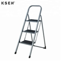 3-tier folding ironing board with step ladder KC-7033