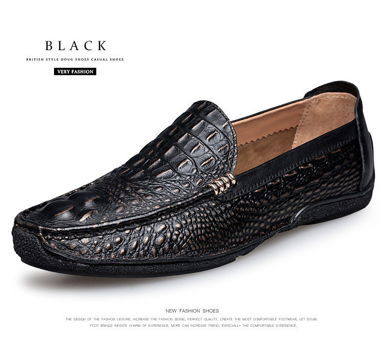 Fine Mens Fashion Brand Suede Leather Loafers Mens Casual Rhinestone Spider Moccasins Oxfords Shoes Man Party Flats Shoes Men's Casual Shoes