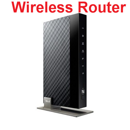 Original perfecto trabajo para Asus DSL-N66U router concurrent Dual-Band VDSL/ADSL Wireless-N900 Gigabit modem Router
