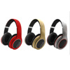 bluetooth stereo headset wireless Support TF card MP3 player factory price