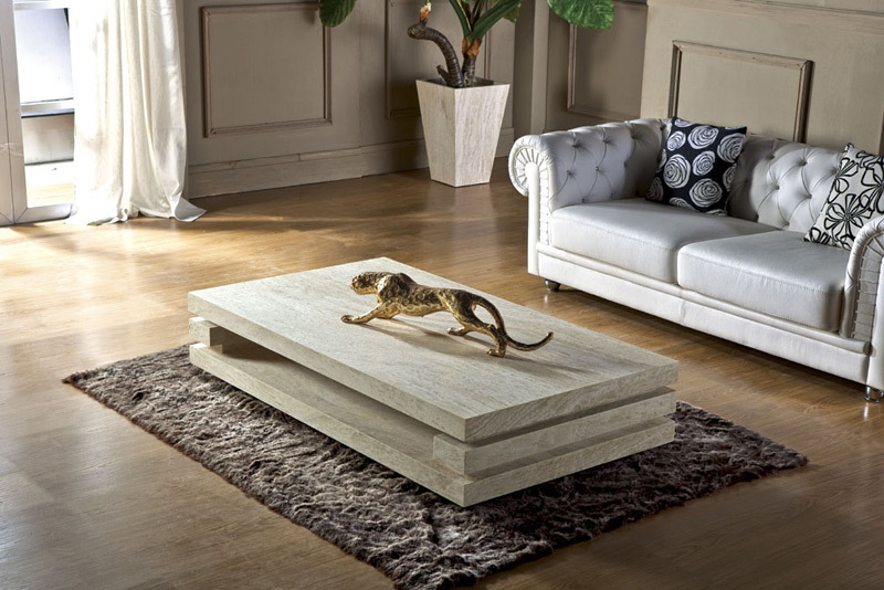 High End Modern Furniture: High End Living Room Furniture Iran Travertine Stone