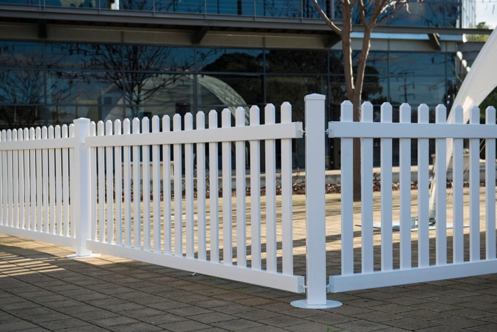 Uv Proof Pvc Portable Fence Panels Garden Fence Buy Pvc