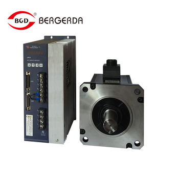 0.6Kw AC servo motor  + servo drive , 1.91Nm hybrid servo motor whole set  with 3 metes cable for automation machine CNC