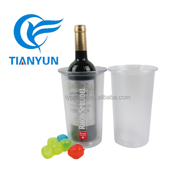 2017 Hot Sale Matt Wine Cooler Beer Ice bucket Double Wall For Bar