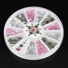 Small And Big 3d nail art bijoux ongles strass ongles decoracion de unas nail glitter decorazioni