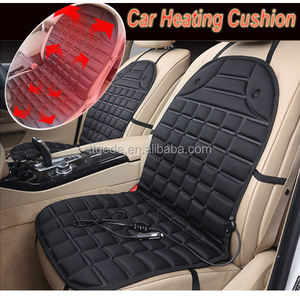 GEDE Car Seat Cushion Cover 12v Heated Warmer Pad Hot Heat Heater Lumbar Winter Truck 12v heated car seat