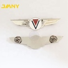 Aviation Style Wings Lapel Pins Custom Airline Pilot Wings Pin Badges for Souvenir