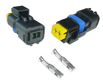 Magnificent 2 Pin Delphi Connector For Citroen Peugeot Front Fog Lamp Socket Or Wiring Cloud Usnesfoxcilixyz