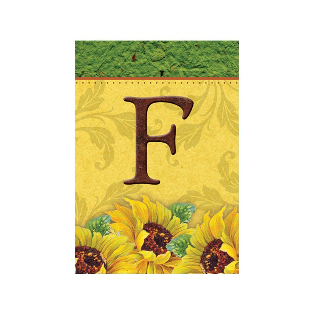 Buy Lvsure Flag Sunflower Monogram F Garden Flags Decorative Flags