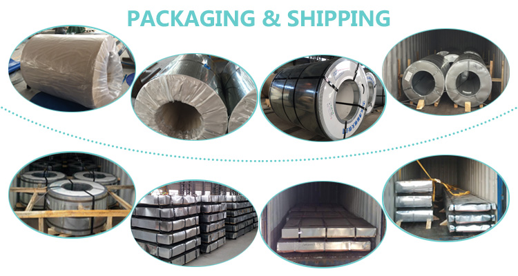 spec spcc cold rolled galvanized steel coil with good quality