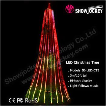 Led Spiral Rope Light Christmas Cone Tree - Buy Lighted Christmas ...