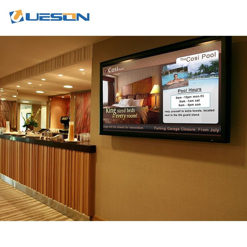 22 дюймов настенный сенсорный экран монитора видео-дисплей рекламы рекламное табло с ЖК-дисплеем