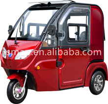 Transit S3 800W60V 5Kwh Electrical Trike 3 wheel Car for 3 passengers subroof