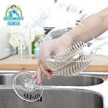 Eco-friendly PP & TPR baby feeding bottle brush/ Cheap and durable kitchen cup & bottle brush
