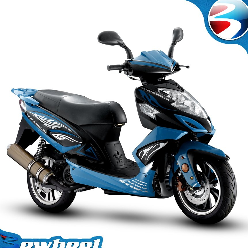 Bewheel 150cc gas scooter best chinese moped model for sale