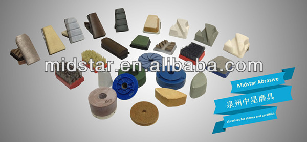 Midstar Polishing Fickert Abrasive Blocks Tool For