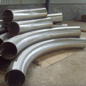 Alloy Steel Seamless Pipe Fittings Butt Welded Steel Big Pipe Bend