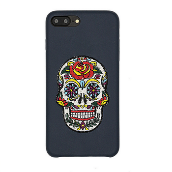 Halloween Gift Scary Pumpkin Skull Flying Witch Cell Phone Case For Samsung Galaxy S7 S6 S5 S4 S3 s7edge