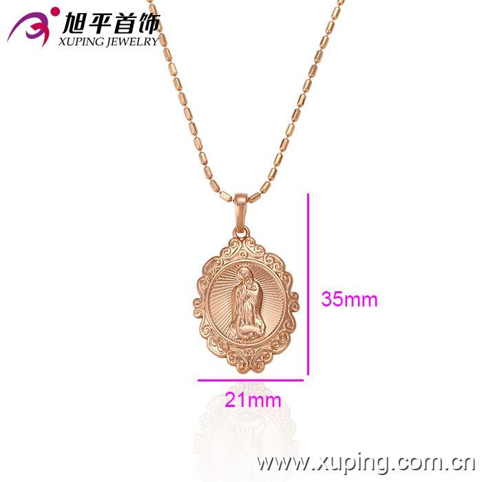 32270-xuping New 2017 Latest 4 Gram Beautiful Rose Gold Pendant ...