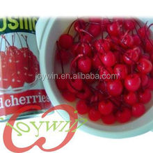 Canned cherry fruit in syrup