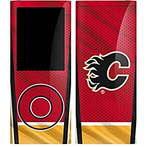 NHL Calgary Flames iPod Nano (4th Gen) Skin - Calgary Flames Home Jersey Vinyl Decal Skin For Your iPod Nano (4th Gen)