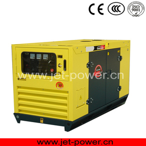 China spare parts lister petter 15kw diesel silent generator in stock