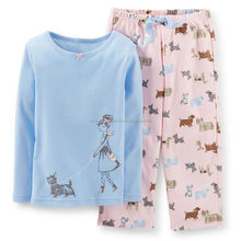 High Quality kids Girls Pajamas sets and suits for wholesale