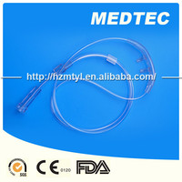 Medical Grade Of Single Use PVC Disposable Nasal Oxygen Cannula