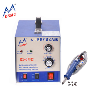 Factory low price ultrasonic hot fix rhinestone setting machine sequin stone fixing machine guangzhou